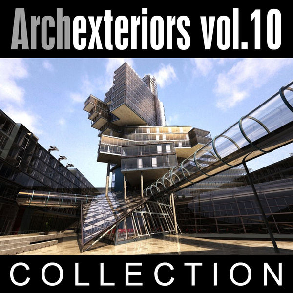 Archexteriors vol. 10 (Evermotion 3D Models) - Architectural Visualizations