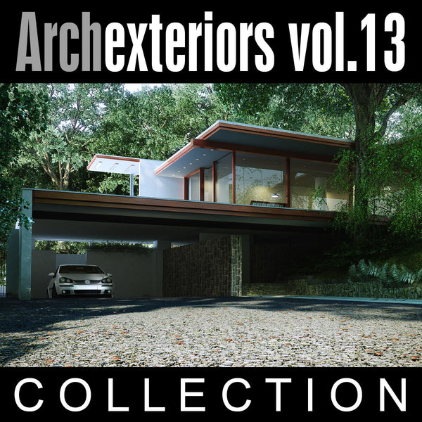 Archexteriors vol. 13 (Evermotion 3D Models) - Architectural Visualizations