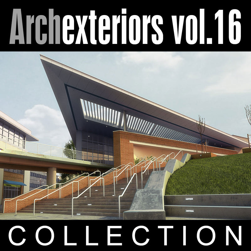 Archexteriors vol. 16 (Evermotion 3D Models) - Architectural Visualizations