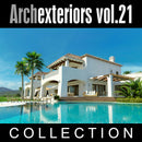 Archexteriors vol. 21 (Evermotion 3D Model Scene Set) - 10 Photorealistic Architectural Scenes