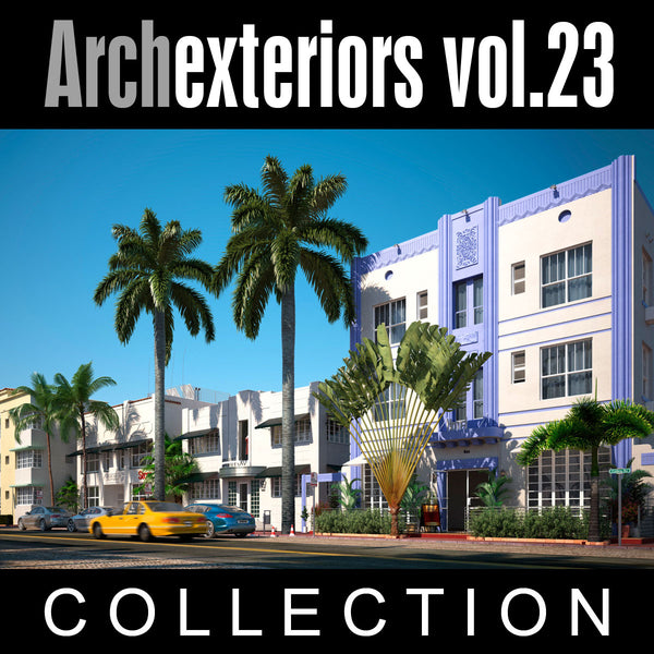Archexteriors vol. 23 (3D Model Scene Sets) - Architectural Visualization Templates