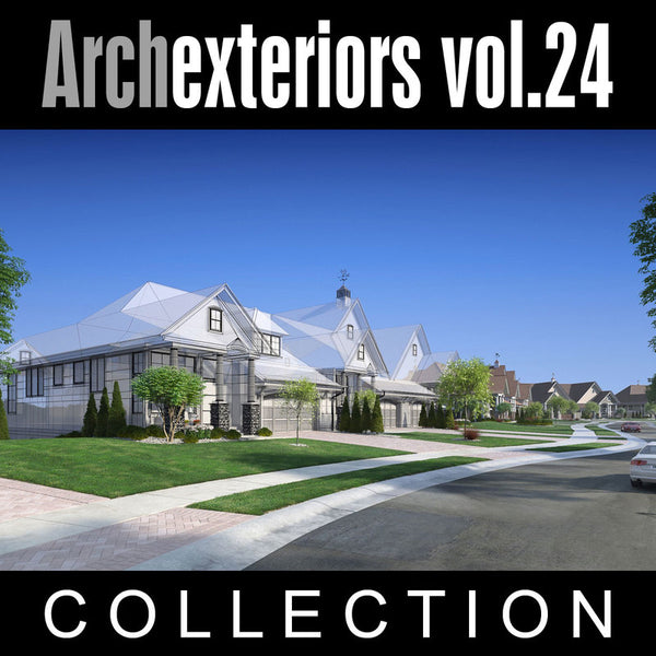Archexteriors vol. 24 (Evermotion 3D Scene Sets) - Architectural Visualization Templates