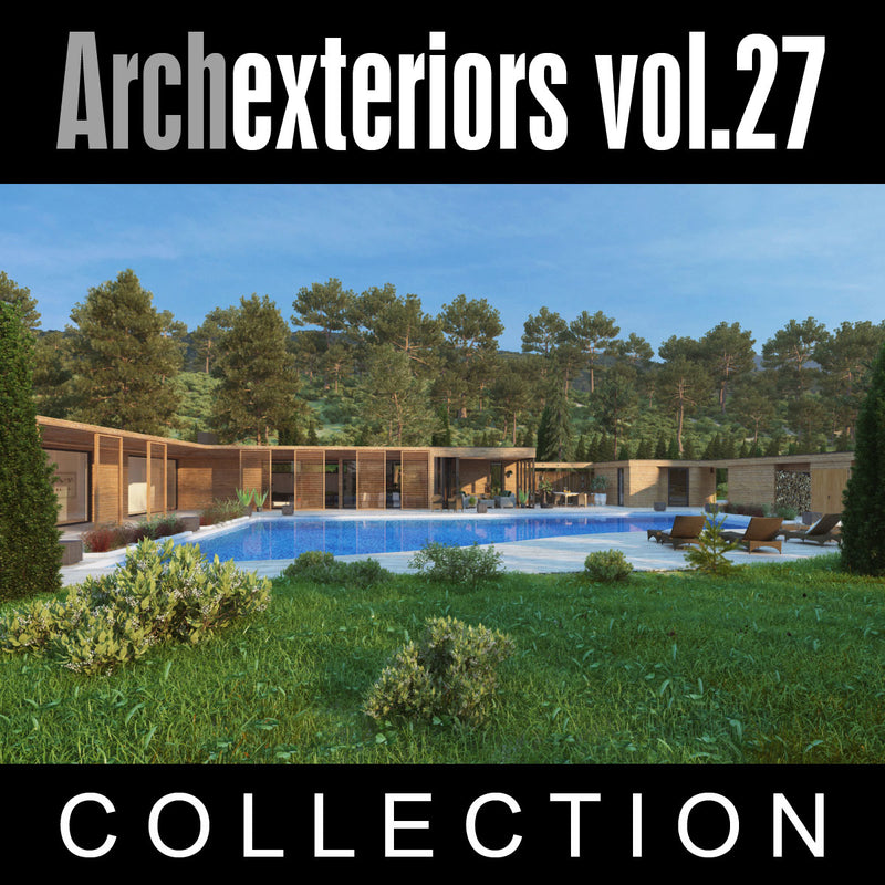 Archexteriors vol. 27 (Evermotion 3D Models) - Architectural Visualizations