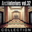 Archinteriors vol. 32 (Evermotion 3D Model Scene Set) - 10 x 3D Luxury Hotel Interior Scenes for 3ds Max with V-Ray