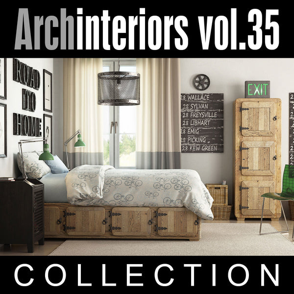 Archinteriors vol. 35 (Evermotion 3D Model Scene Set)