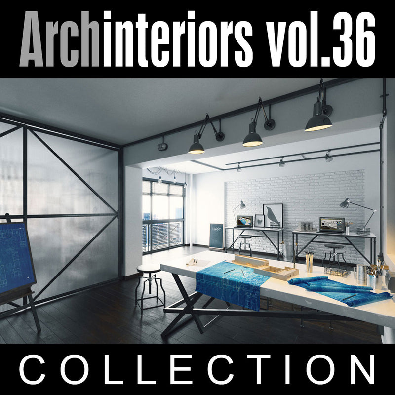 Archinteriors vol. 36 (Evermotion 3D Model Scene Set)