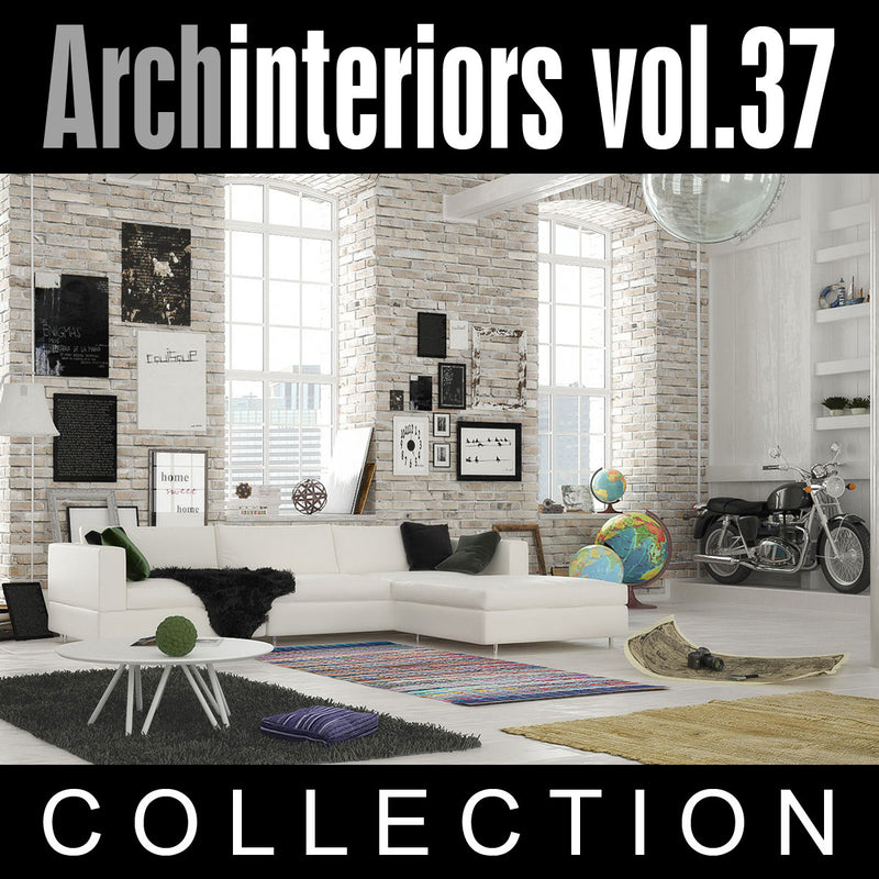 Archinteriors vol. 37 (Evermotion 3D Model Scene Set)