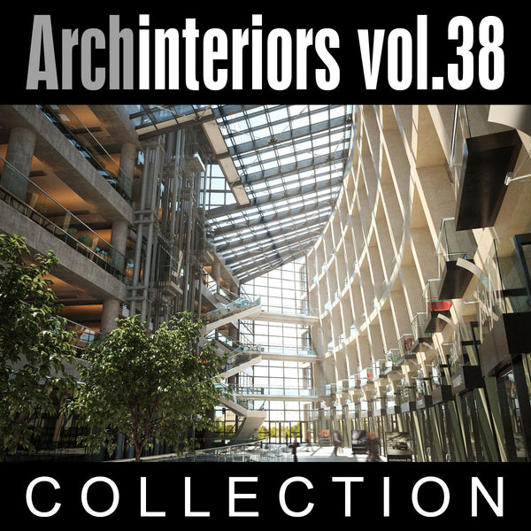 Archinteriors vol. 38 Public Interiors (Evermotion 3D Model Scene Set)