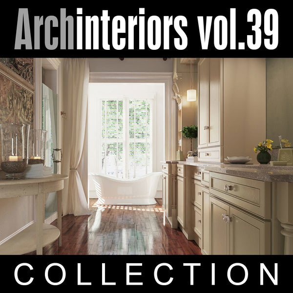 Archinteriors vol. 39 (Evermotion 3D Model Scene Set)