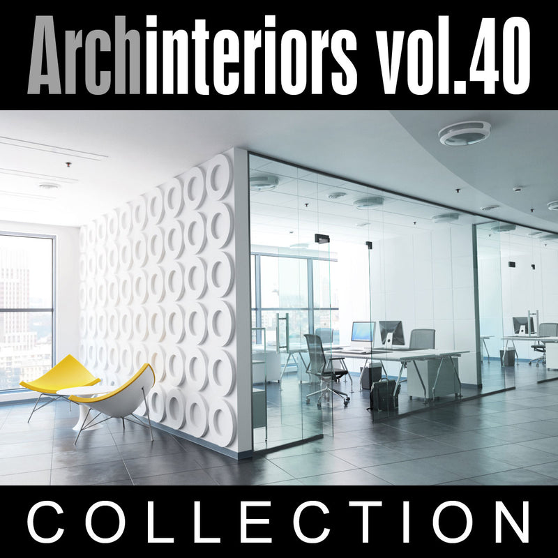Archinteriors vol. 40 (Evermotion 3D Model Scene Set)
