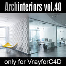 Archinteriors for C4D vol. 40 (Evermotion 3D Model Scene Set)