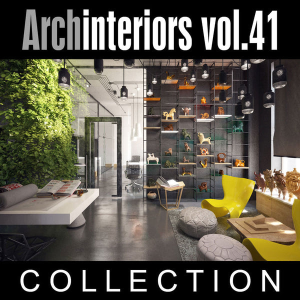 Archinteriors vol. 41 (Evermotion 3D Model Scene Set)