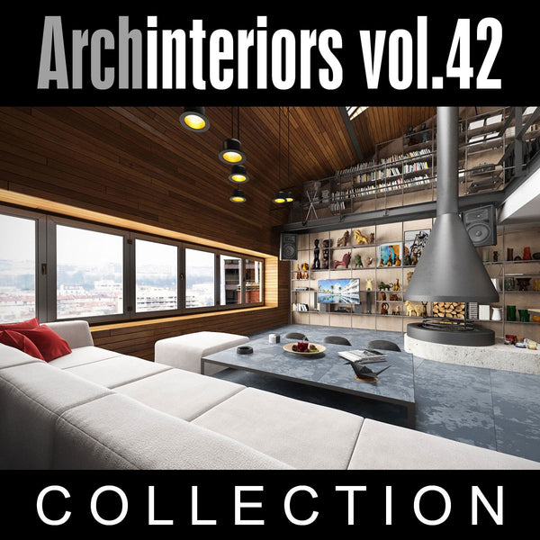 Archinteriors vol. 42 (Evermotion 3D Model Scene Set)