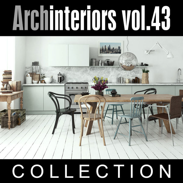 Archinteriors vol. 43 (Evermotion 3D Model Scene Set) (Evermotion 3D Models) - Architectural Visualizations