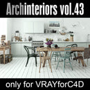 Archinteriors for C4D vol. 43 (Evermotion 3D Model Scene Set)