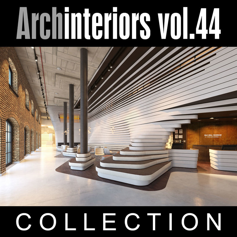 Archinteriors vol. 44 (Evermotion 3D Model Scene Set)