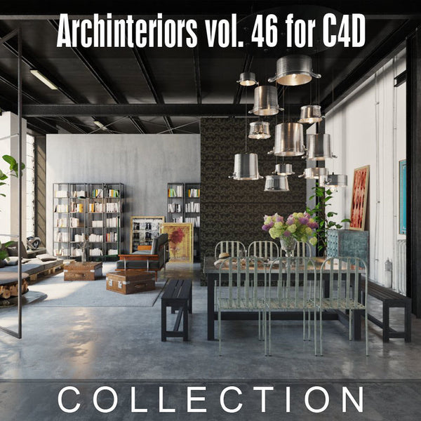 Archinteriors vol. 46 for C4D (Evermotion 3D Models) - Architectural Visualizations