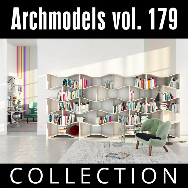 Archmodels vol. 179 (Evermotion 3D Models) - Architectural Visualizations
