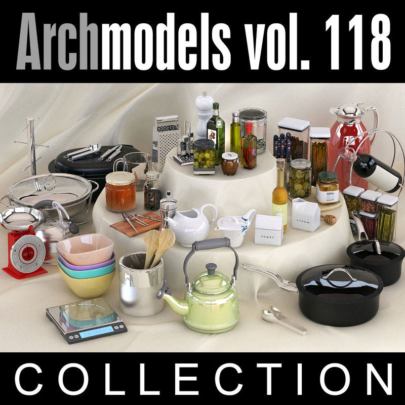 Archmodels vol. 118 (Evermotion 3D Models) - Architectural Visualizations