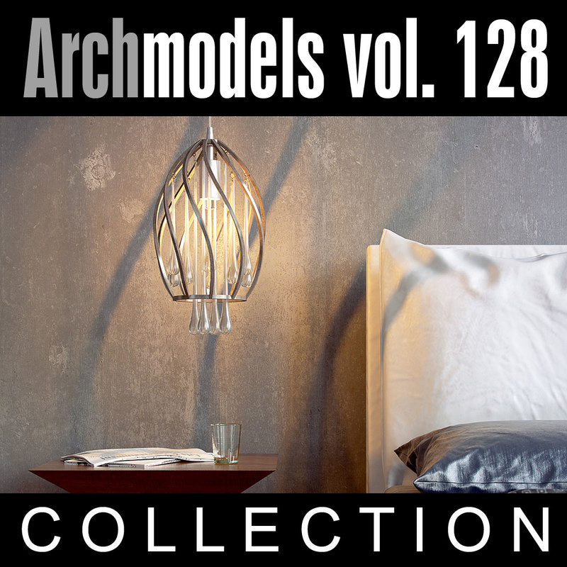 Archmodels vol. 128 (Evermotion 3D Models) - Modern Interior Lamps