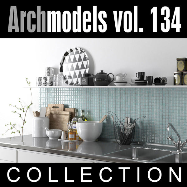 Archmodels vol. 134 (Evermotion 3D Models) 3D Home Decor / Decorative Pieces