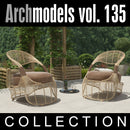 Archmodels vol. 135 (Evermotion 3D Models) - Outdoor Sitting / Furniture