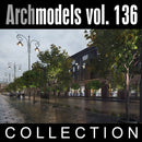 Archmodels vol. 136 (Evermotion 3D Models) - Trees for Archviz