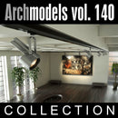 Archmodels vol. 140 (Evermotion 3D Models) - Modern Ceiling / Interior Light Fixtures