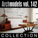 Archmodels vol. 142 (Evermotion 3D Models) - Modern Executive Office / Lounge Furniture & Decorations