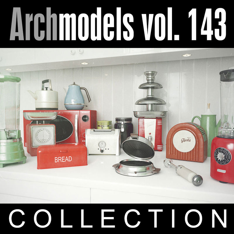 Archmodels vol. 143 (Evermotion 3D Models) - Kitchen Appliances
