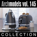 Archmodels vol. 145 (Evermotion 3D Models) - Kitchen Appliances (Evermotion 3D Models) - Architectural Visualizations
