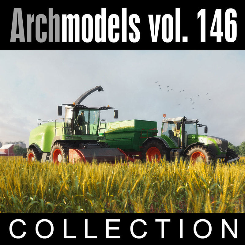 Archmodels vol. 146 (Evermotion 3D Models) - Agricultural Machinery