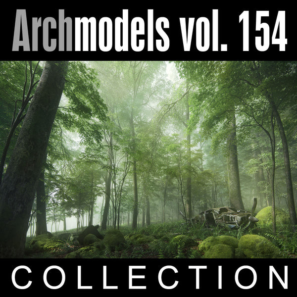 Archmodels vol. 154 (Evermotion 3D Models) - Garden