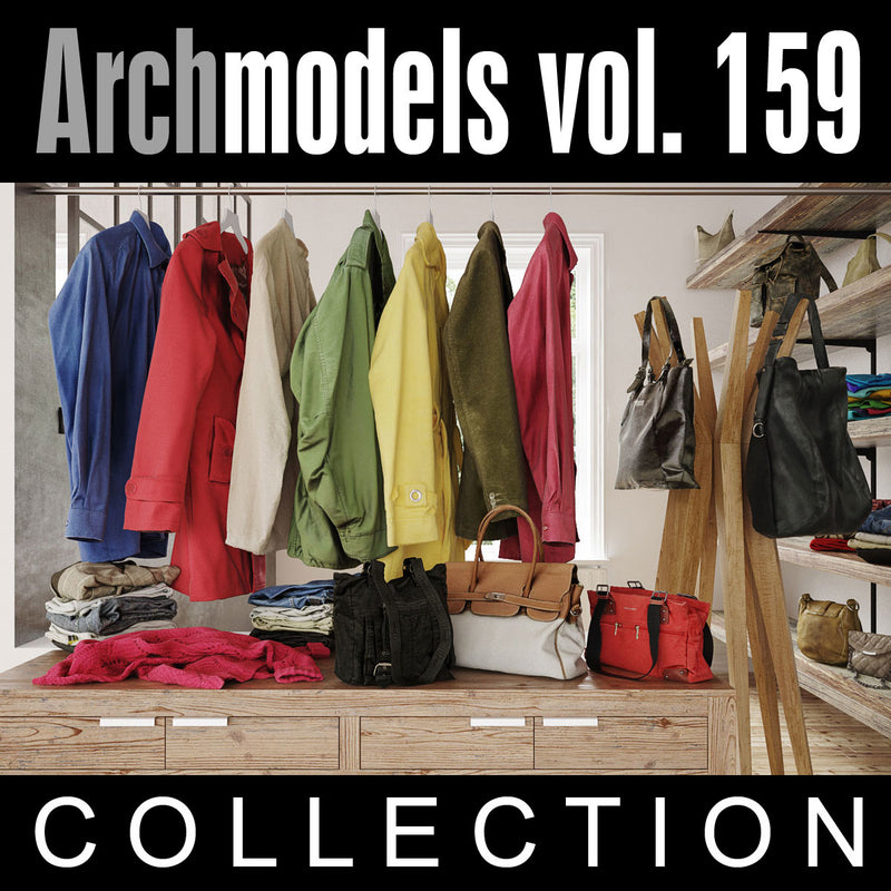 Archmodels vol. 159 (Evermotion 3D Models) - Architectural Visualizations
