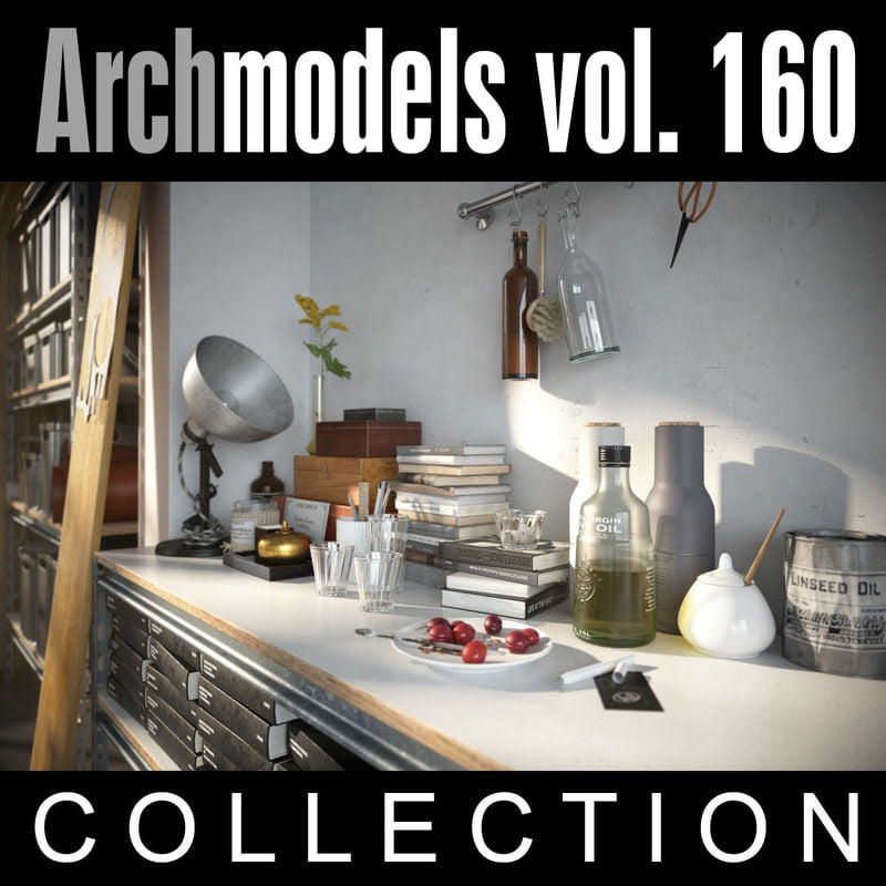 Archmodels vol. 160 (Evermotion 3D Models) - Architectural Visualizations