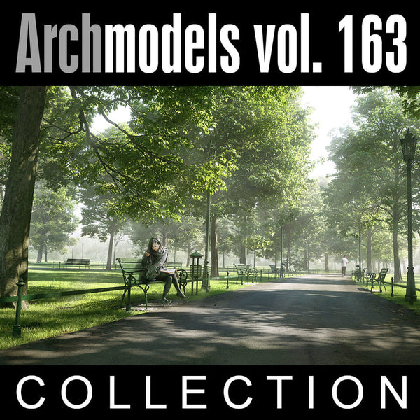 Archmodels vol. 163 (Evermotion 3D Models) - Architectural Visualizations