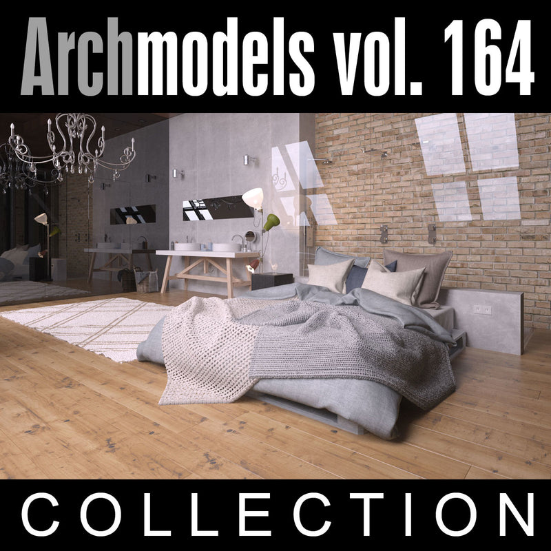 Archmodels vol. 164 (Evermotion 3D Models) - Architectural Visualizations