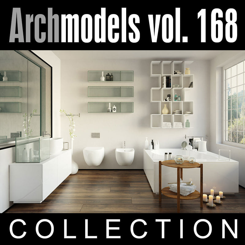Archmodels vol. 168 (Evermotion 3D Models) - Architectural Visualizations