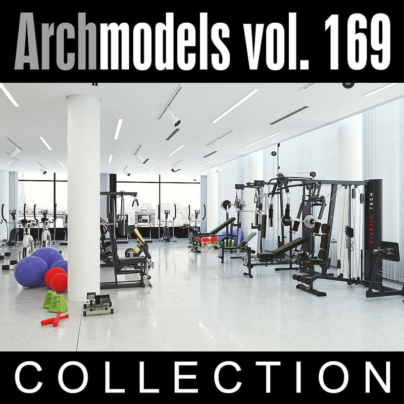 Archmodels vol. 169 (Evermotion 3D Models) - Architectural Visualizations