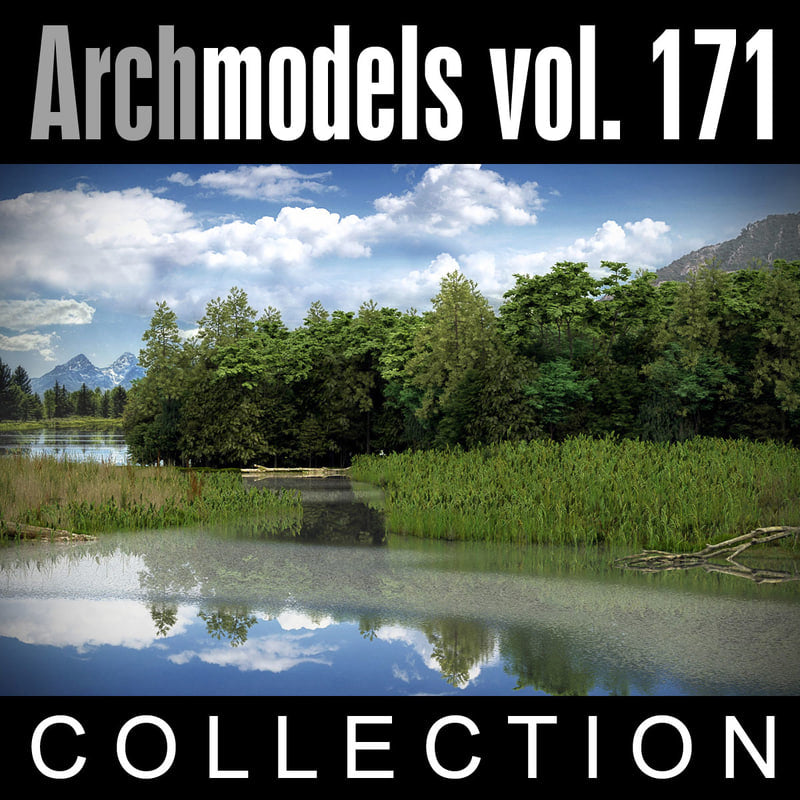 Archmodels vol. 171 (Evermotion 3D Models) - Architectural Visualizations