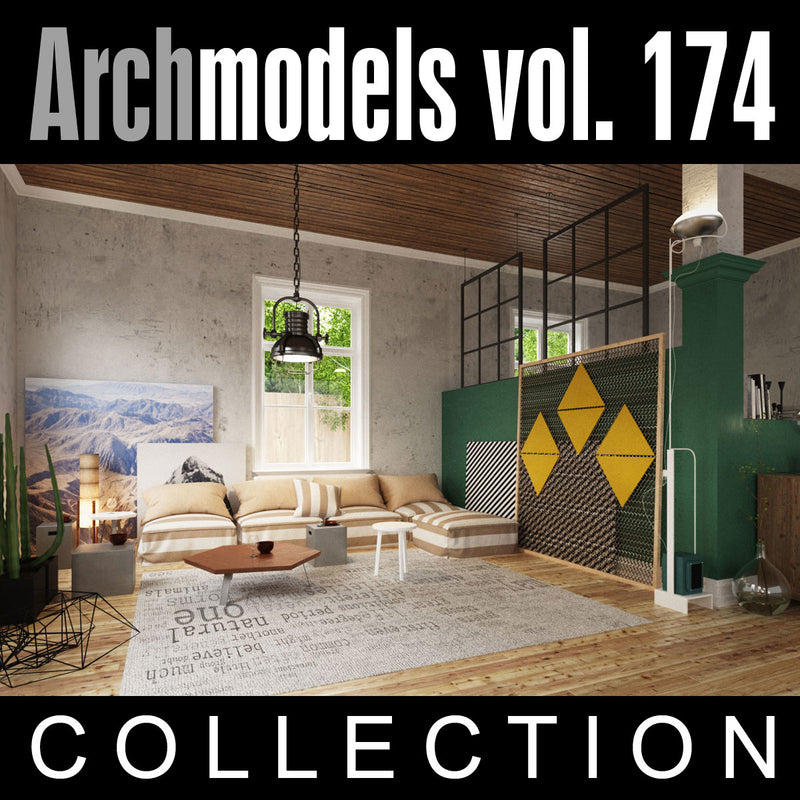 Archmodels vol. 174 (Evermotion 3D Models) - Architectural Visualizations