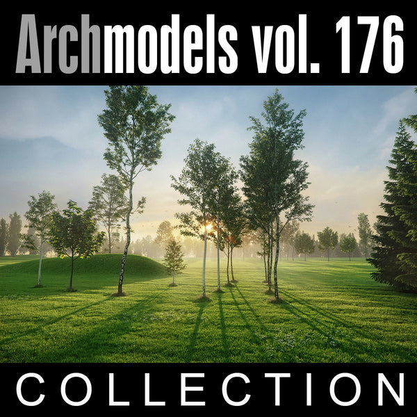 Archmodels vol. 176 (Evermotion 3D Models) - Architectural Visualizations