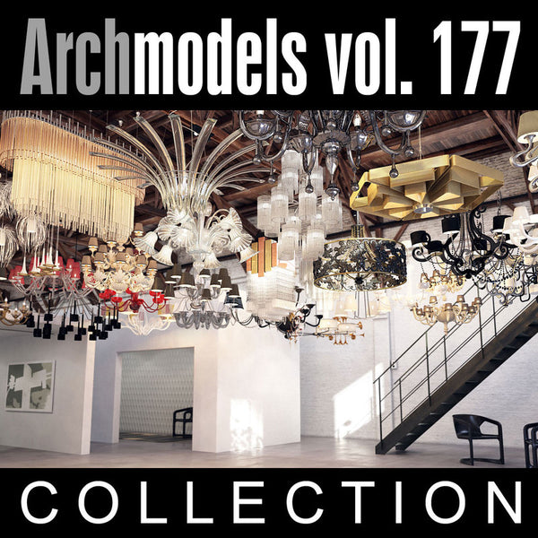 Archmodels vol. 177 (Evermotion 3D Models) - Architectural Visualizations