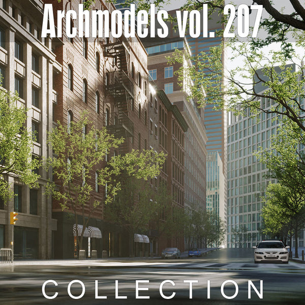 Archmodels vol. 207 (Evermotion 3D Models) - Architectural Visualizations