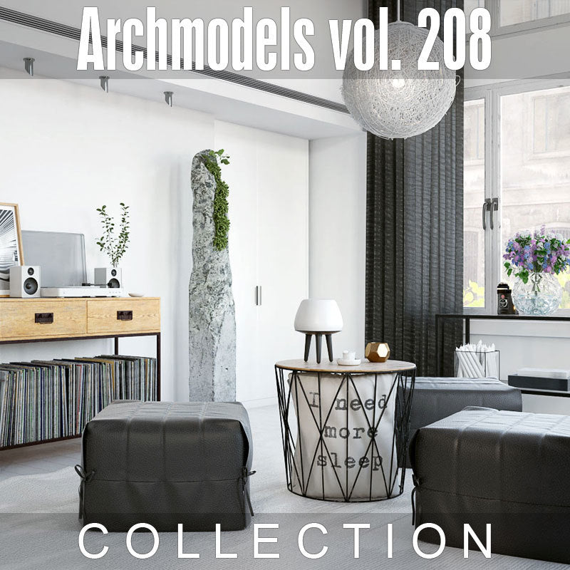 Archmodels vol. 208 (Evermotion 3D Models) - Architectural Visualizations