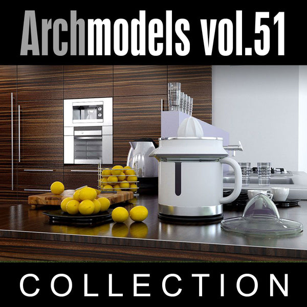 Archmodels vol. 51 Kitchen Accessories - Evemotion