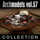 Archmodels vol. 57 Porcelain - (Evermotion 3D Models) - Architectural Visualizations