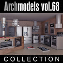 Archmodels vol. 68 Kitchen Equipment (Evermotion 3D Models) - Architectural Visualizations