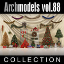 Archmodels vol. 88 Christmas Decorations (Evermotion 3D Models) - Architectural Visualizations