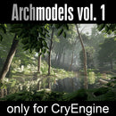 Archmodels for CryEngine vol. 1 (Evermotion 3D Models) - Architectural Visualizations